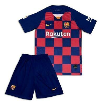 Kit Infantil Barcelona I 2019 Camisa + Shorts