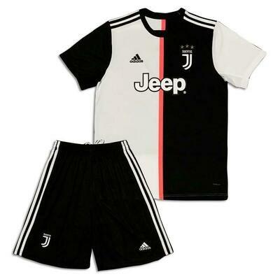 Kit Infantil Juventus I 2019 Camisa + Short