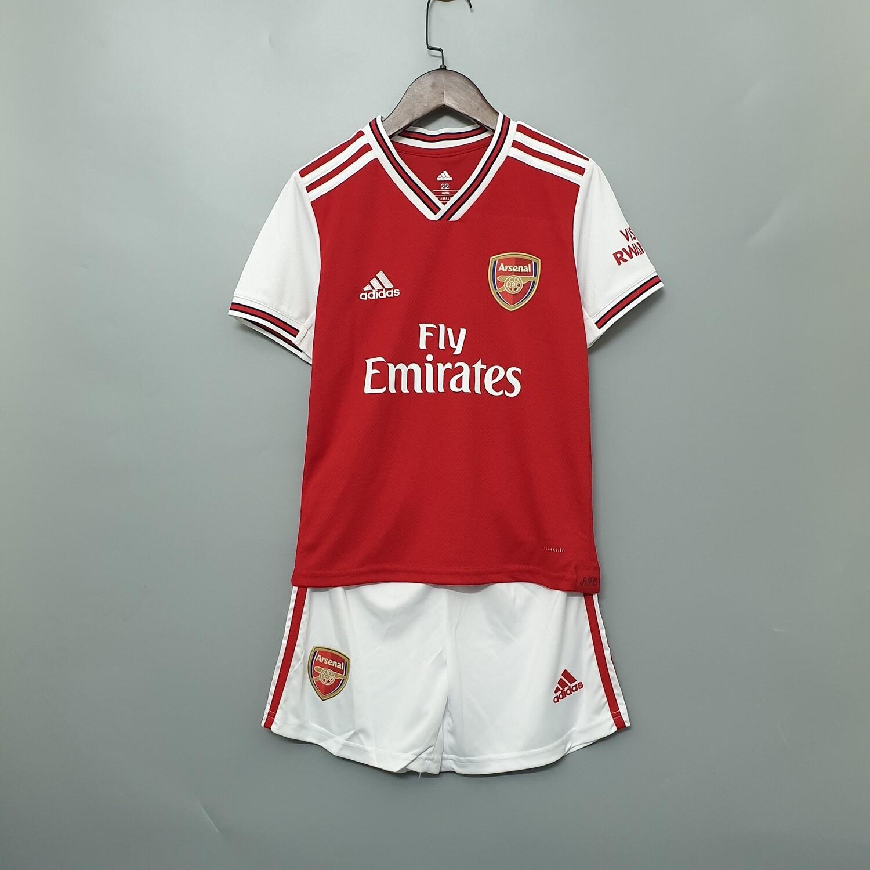 Kit Infantil Arsenal 2019 Camisa + Short