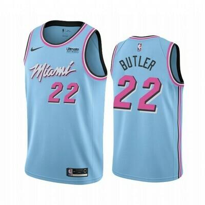 Camiseta Regata Esportiva Basquete NBA Miami Heat City Edition Vice BUTLER #22
