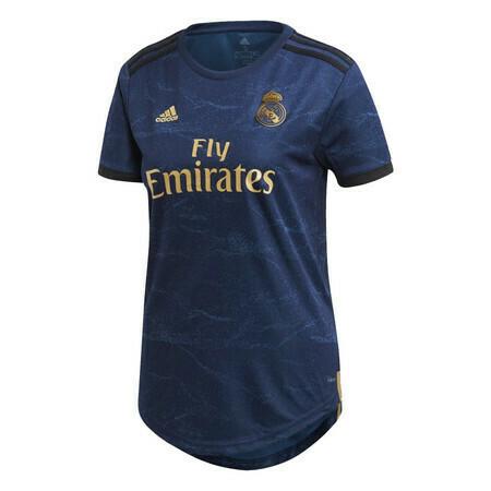 camisa do Real Madrid away feminina 2019-2020