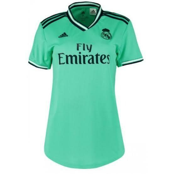 camisa Third do Real Madrid  feminina 2019-2020