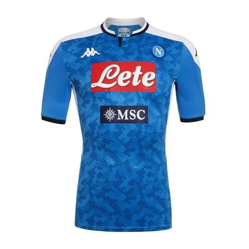 Camisa do Napoli 2019-2020 Kappa Home