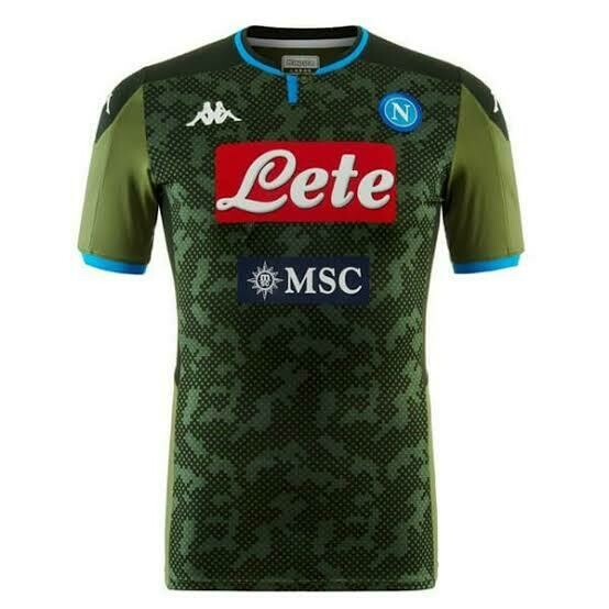 Camisa Napoli Away 19/20 - Verde Escuro