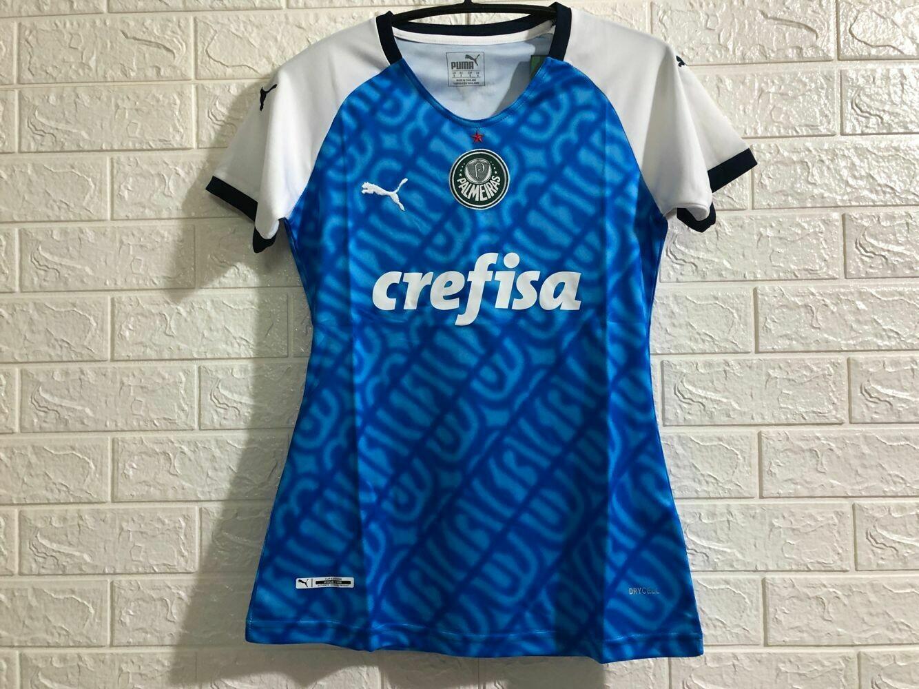 Camisa Palmeiras Puma 1999 Torcedor Edição Especial Feminina - Azul