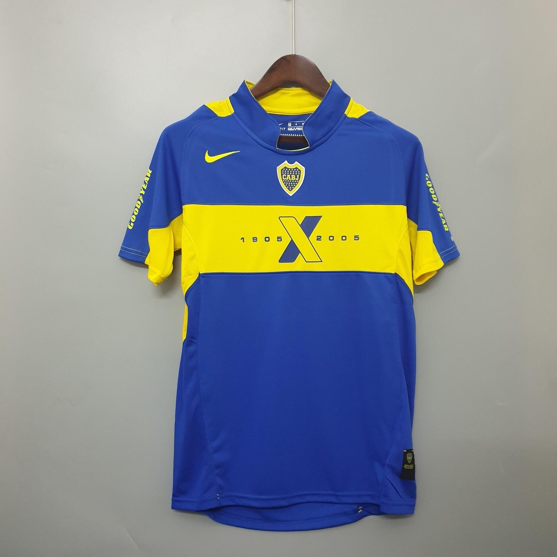 Camisa Boca Juniors - Retrô - Home - 2005