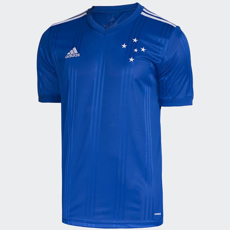 Camisa Cruzeiro I 20/21  Torcedor Adidas Masculina - Azul