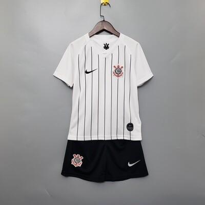 Camisa do Corinthians - Infantil+ Short de Brinde