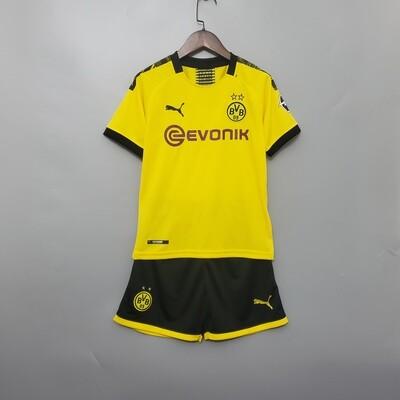 Conjunto Infantil Borussia Dortmund Home Puma 2019/20