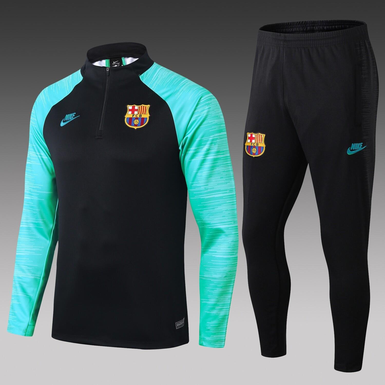 Kit Agasalho de Treinamento do Barcelona 19/20