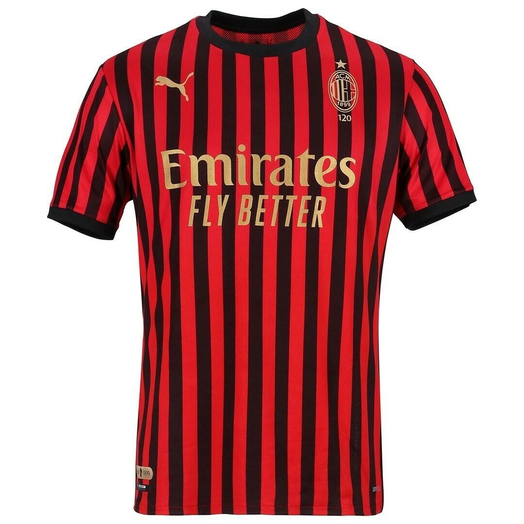 Camisa de 120 anos do Milan 2019 PUMA