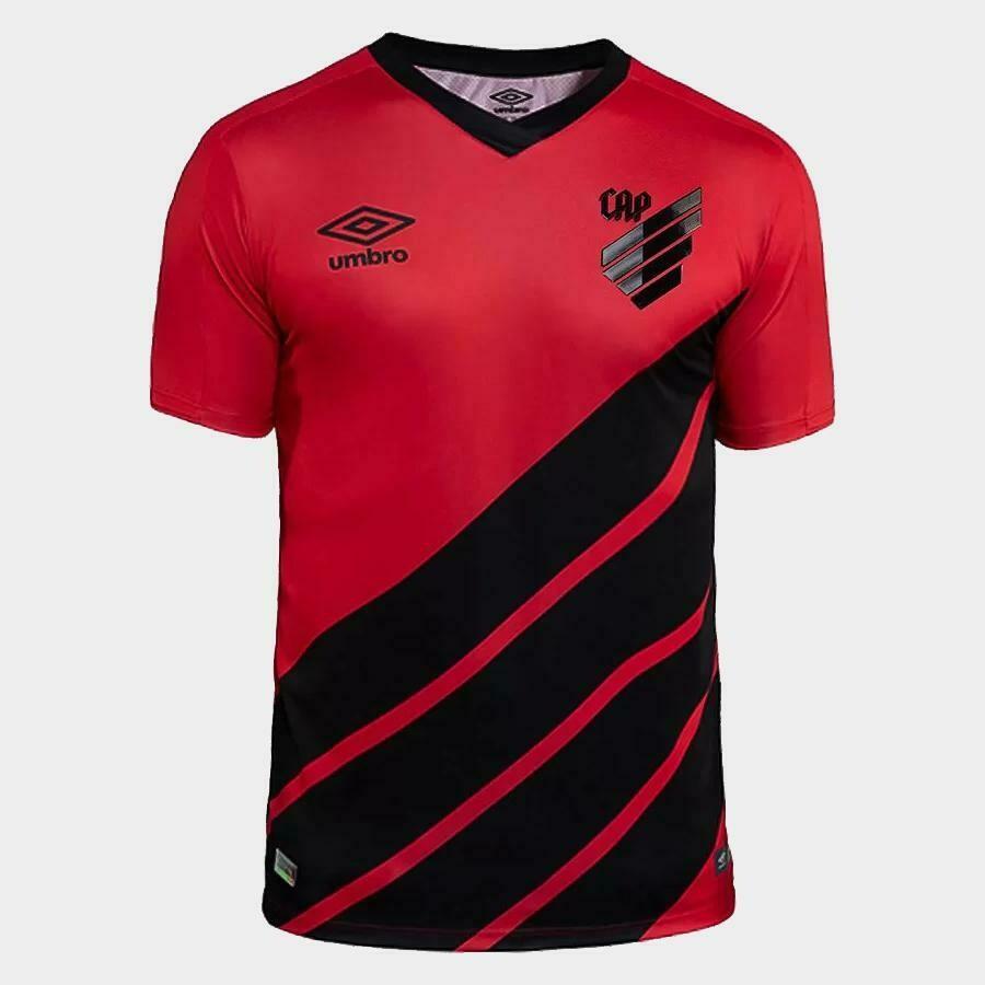Camisa Umbro Athletico Paranaense I 2019 Masculina - Vermelho