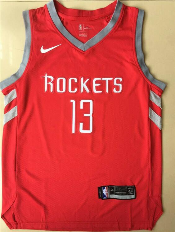 Regata Swingman NBA Houston Rockets James Harden Nike Road - Vermelho