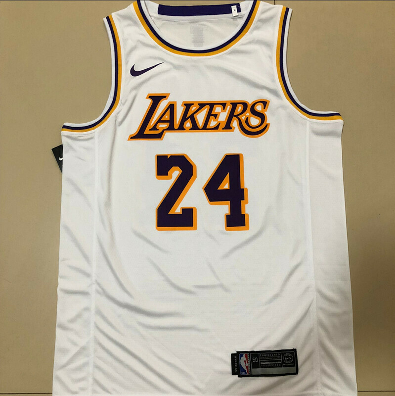 Camiseta Regata Nike NBA Amarela Lakers Kobe Bryant 24