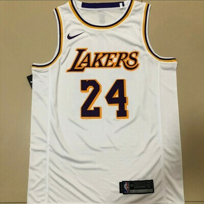 Camiseta Regata Nike NBA Amarela Lakers Kobe Bryant 24