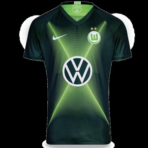 Camisa Wolfsburg Home 19/20