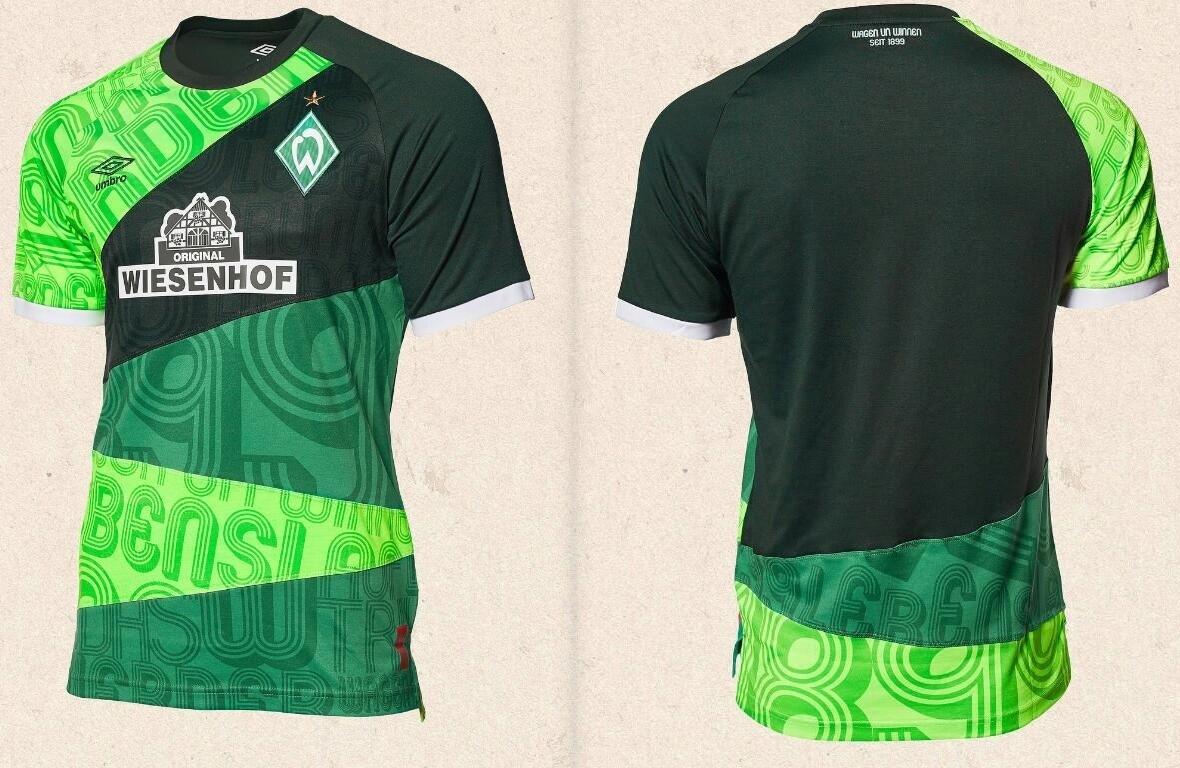 Camisa de 120 anos do Werder Bremen 2019 Umbro