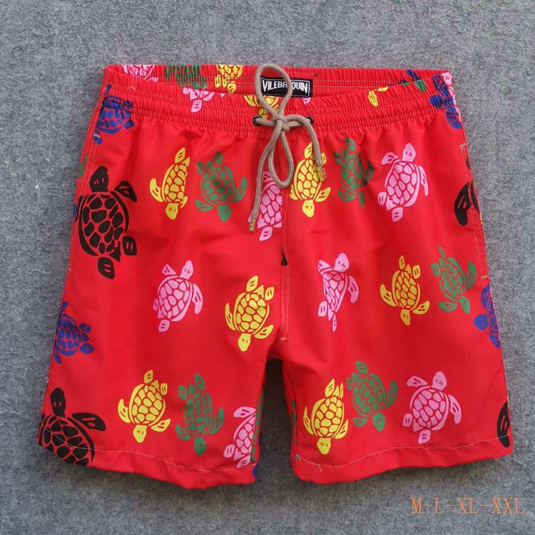 Short Vilebrequin Masculino vermelho