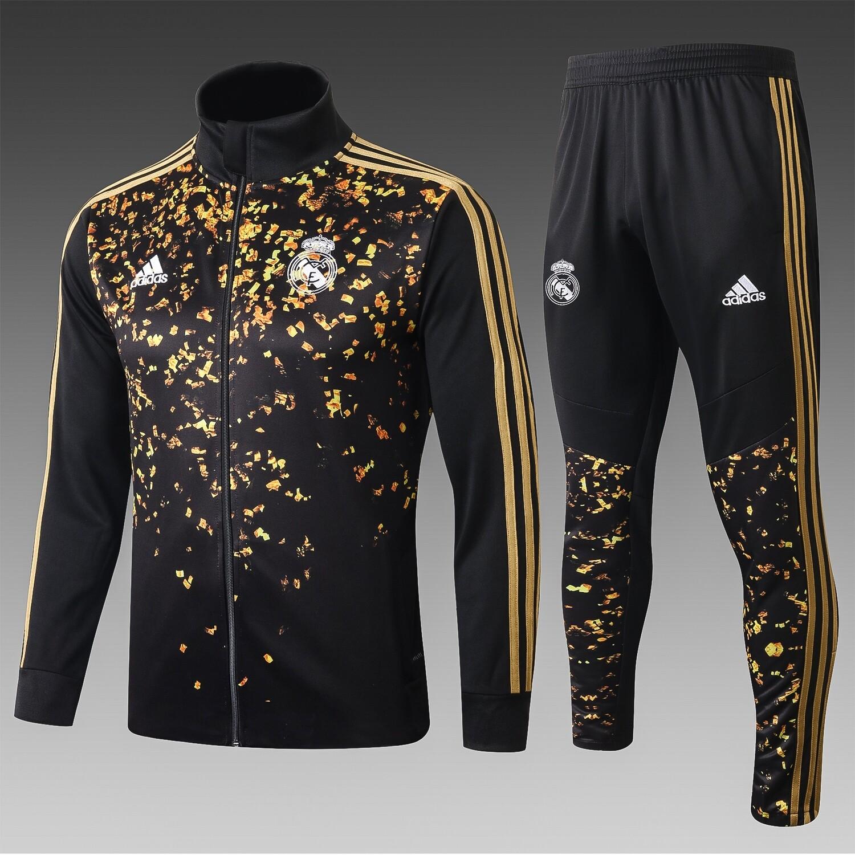 Kit Agasalho de Treinamento Real Madrid 2020/21