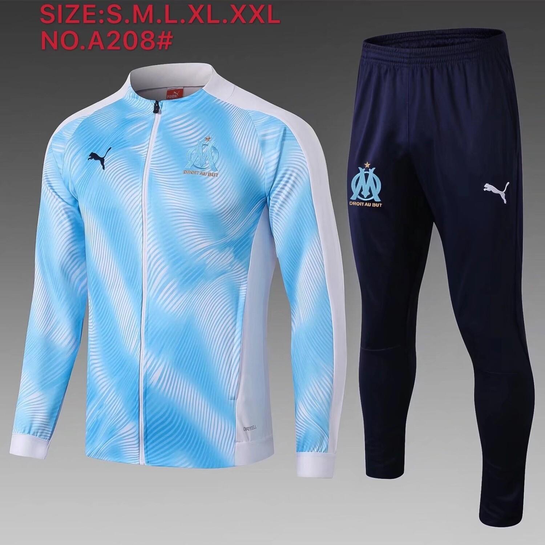 Kit Agasalho de  Treinamento Olympique de Marseille-19/20