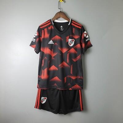 Camisa Club Atlético River Plate- Infantil+ Short de Brinde