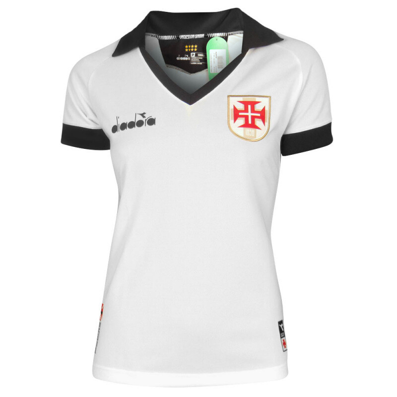 Camisa Vasco 3 2019 Diadora - Feminina
