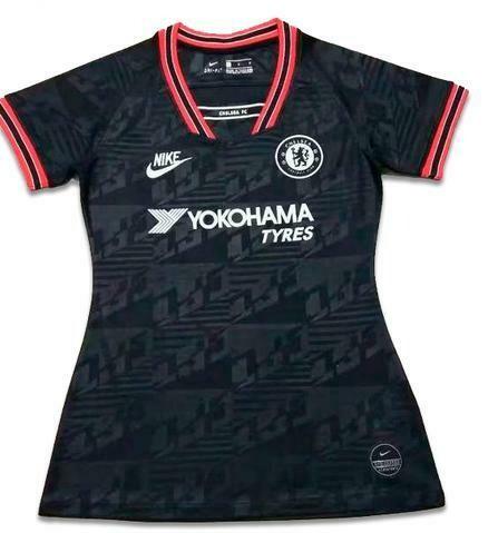 Camisa Chelsea III 2019/20 - Feminino