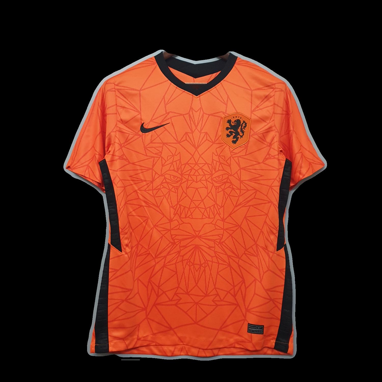 Camisa Holanda I 2020 Nike Masculina - Laranja