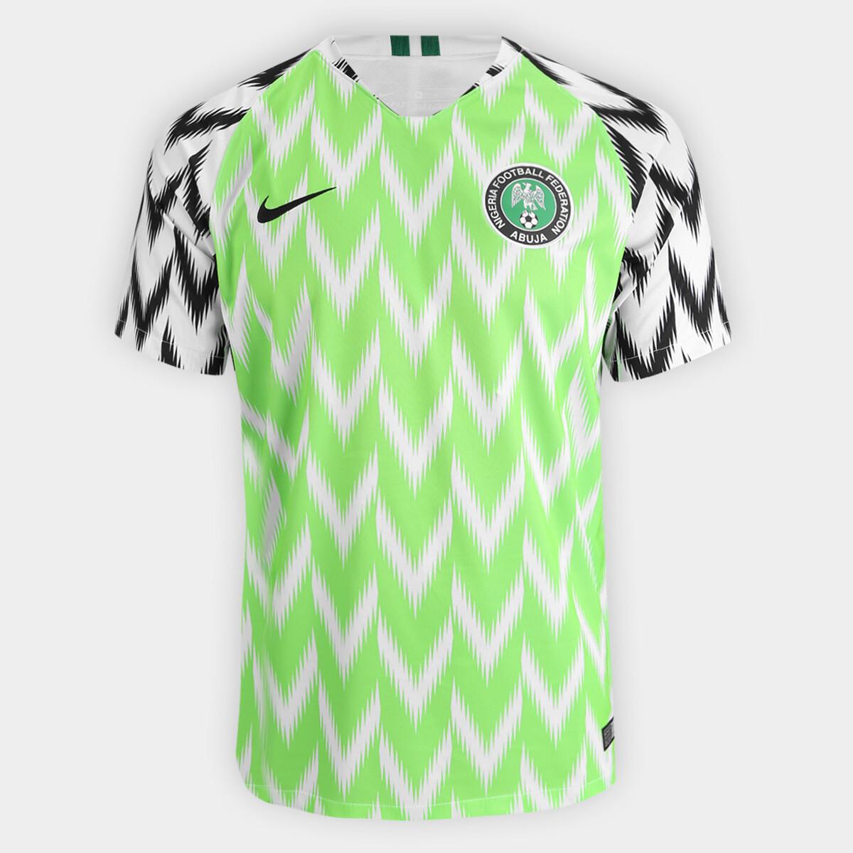 Camisa Seleção Nigéria 18/19 – Torcedor Nike