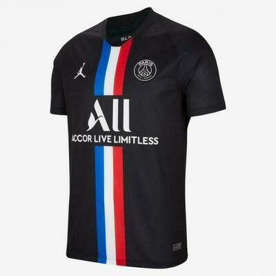 Camisa Jordan x PSG 2019/20 IV  Masculina torcedor