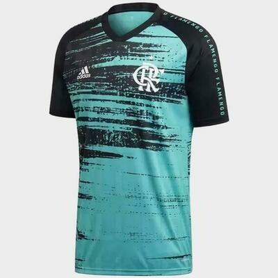 Camisa Flamengo Treino I 2020 adidas - Masculina
