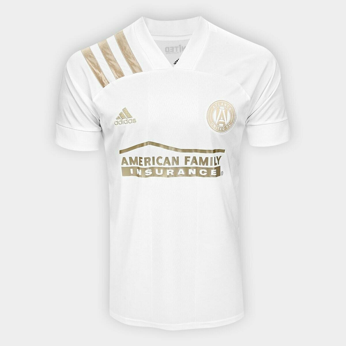 Camisa Atlanta United Away 20/21  Torcedor Adidas Masculina - Branco