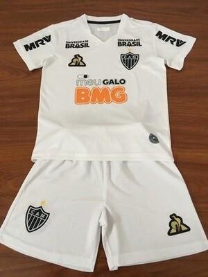 Camisa Atlético Mineiro II 2019 adidas - Infantil+ Short de Brinde