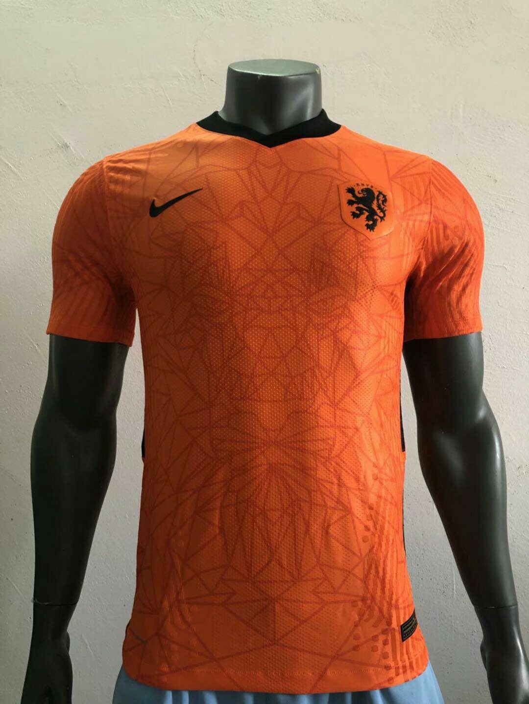 Camisa Holanda I 2020 Nike Masculina - Laranja Jogador