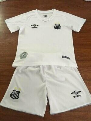 Camisa Santos I 19/20   Umbro Infantil - Branco
