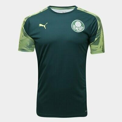 Camisa de Treino Palmeiras 2020 Puma Masculina - Verde e Amarelo