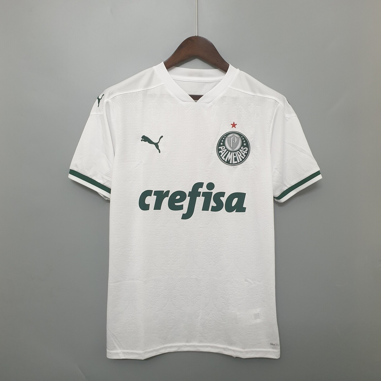 Camisa Palmeiras II 20/21 Torcedor Puma Masculina - Branco