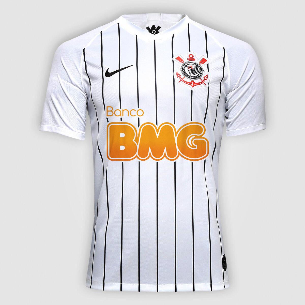 Camisa Nike Corinthians I 19/20 BMG