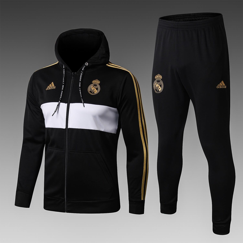 Kit Agasalho de Treinamento Real Madrid 2020/2021