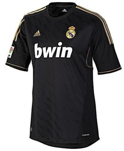 Camisa Real Madrid II 2012 Retrô Torcedor Masculina