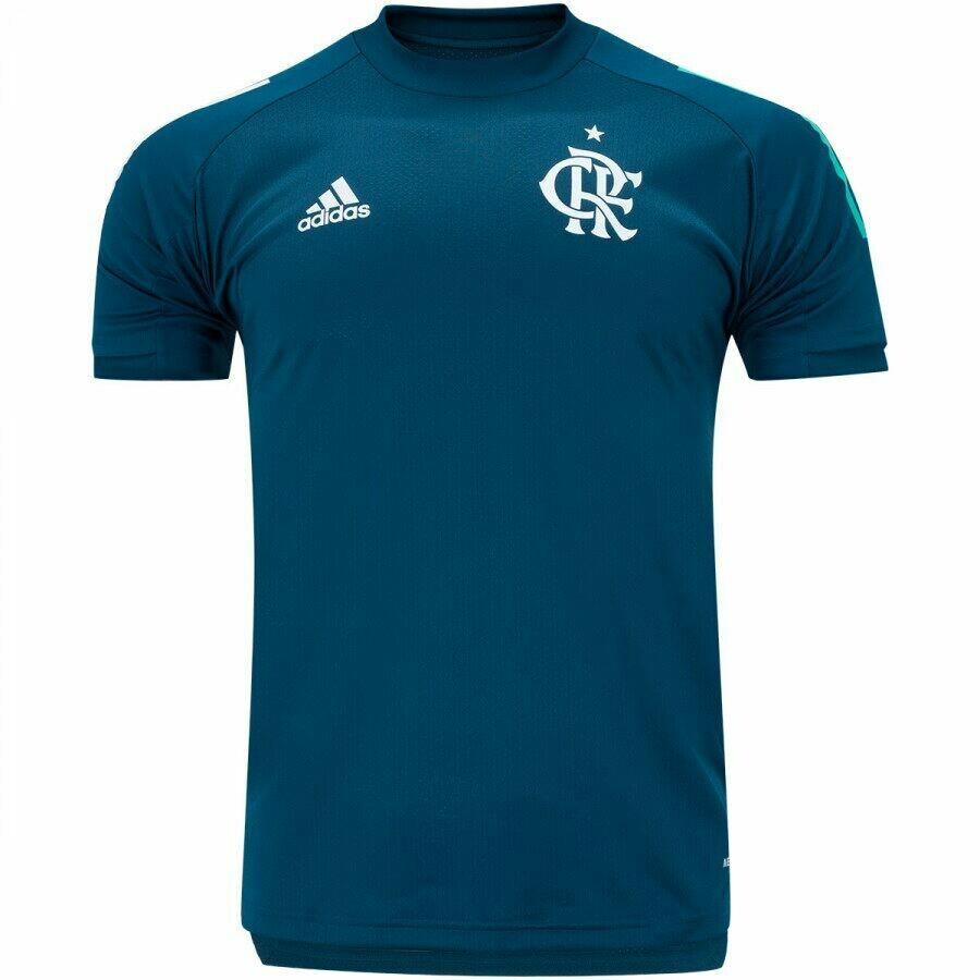Camisa de Treino do Flamengo 2020 adidas - Masculina Pronta Entrega