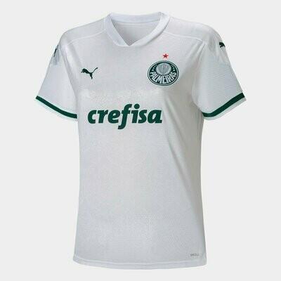 Camisa Palmeiras II 20/21 Puma Feminina - Branco