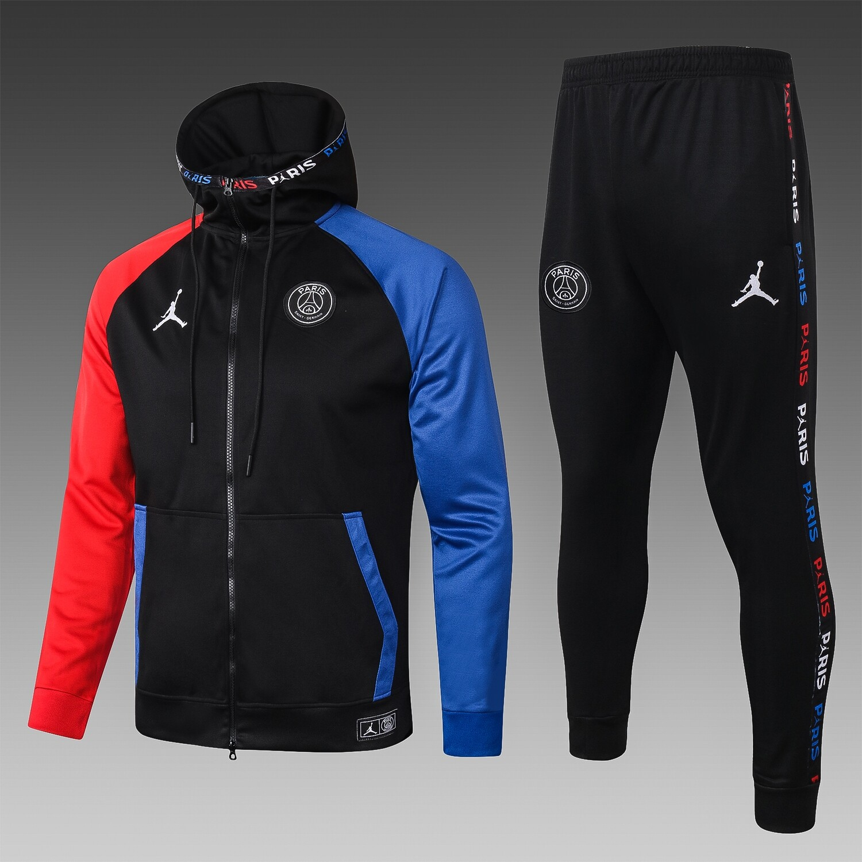 Kit Blusão Jordan PSG Black Cat Unissex + Calça