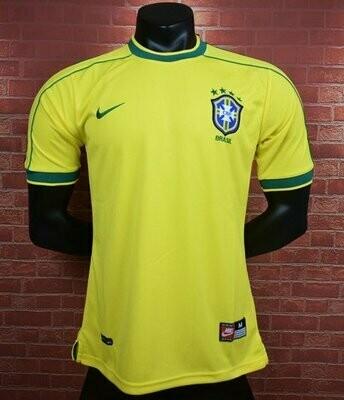 Camisa Seleção Brasileira I  1998 Retrô