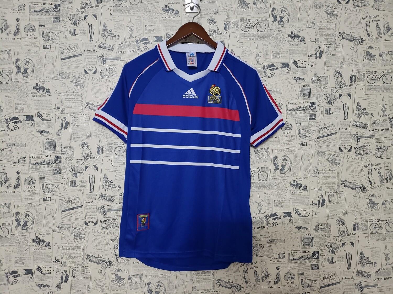 Camisa França Copa Do Mundo 1998