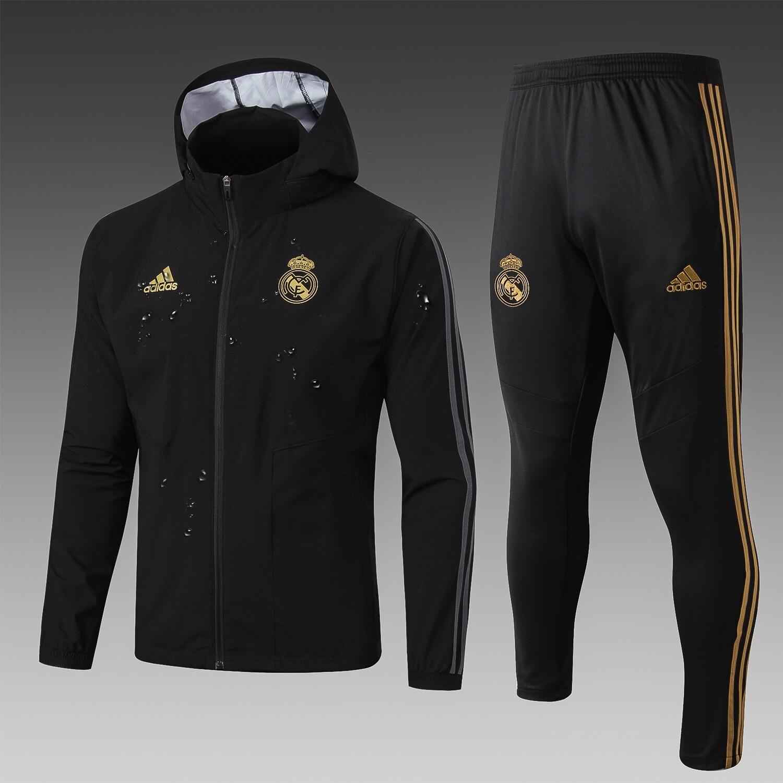 Kit Agasalho de Treinamento Real Madrid 2019/20