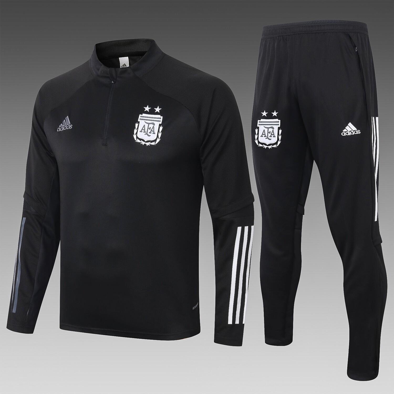 Kit Agasalho de Treinamento Seleção da Argentina Adidas 2020/21