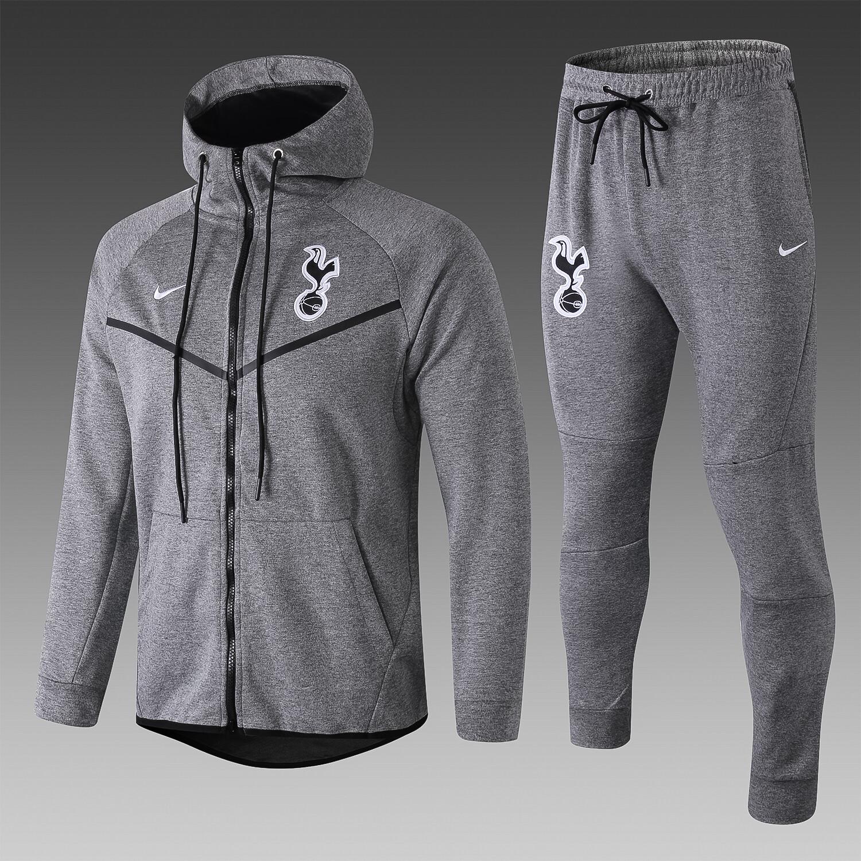 Kit Agasalho cinza Nike Tottenham 2018/2019