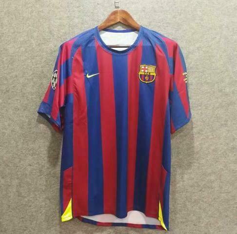 Barcelona Home camisa de futebol 2005 - 2006