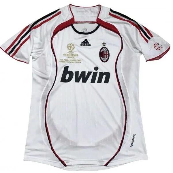 Camisa Milan 2006-2007  Branca